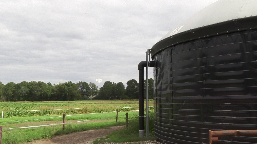 Biogas-Fermenter in Noord-Deurningen (Foto: FH Münster)